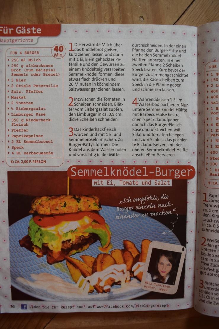 Semmelknödel Burger